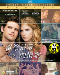 The Last 5 Years Blu-Ray (2014) (Region A) (Hong Kong Version)