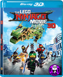 The Lego Ninjago Movie LEGO旋風忍者大電影 2D + 3D Blu-Ray (2017) (Region A) (Hong Kong Version)