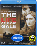 The Life Of David Gale Blu-Ray (2003) (Region Free) (Hong Kong Version)