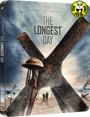 The Longest Day Blu-Ray (1962) (Region A) (Hong Kong Version) 2 Disc Steelbook version