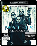 The Matrix: Reloaded 22世紀殺人網絡2: 決戰未來 4K UHD + Blu-Ray (2003) (Hong Kong Version)