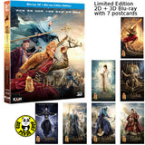 The Monkey King 2 西遊記之孫悟空三打白骨精 (2D + 3D) Blu-ray (2016) (Region A) (English Subtitled) 2 Discs Limited Edition with 7 Postcards
