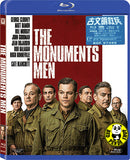 The Monuments Men Blu-Ray (2014) (Region A) (Hong Kong Version)