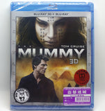 The Mummy 盜墓迷城 2D + 3D Blu-ray (2017) (Region Free) (Hong Kong Version)