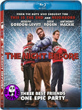 The Night Before 聖誕狂歡夜 Blu-Ray (2015) (Region A) (Hong Kong Version)