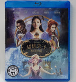 The Nutcracker And The Four Realms 胡桃夾子 Blu-Ray (2018) (Region A) (Hong Kong Version)