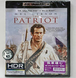 The Patriot 孤軍雄心 4K UHD + Blu-Ray (2000) (Hong Kong Version)