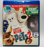 The Secret Life of Pets 2 2D + 3D Blu-Ray (2019) PET PET當家2 (Region Free) (Hong Kong Version)