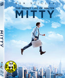 The Secret Life Of Walter Blu-Ray (2013) (Region A) (Hong Kong Version)