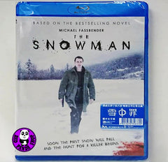The Snowman 雪中罪‬ Blu-Ray (2017) (Region A) (Hong Kong Version)