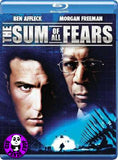 The Sum of All Fears Blu-Ray (2002) (Region Free) (Hong Kong Version)