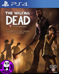 The Walking Dead: The Complete First Season  (PlayStation 4) Region Free