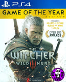 The Witcher III: Wild Hunt Game of the Year Edition (PlayStation 4) Region Free (PS4 English & Chinese Subtitled Version) 巫師 3: 狂獵 GOTY (中英文合版)
