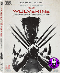 The Wolverine 2D + 3D Blu-Ray (2013) (Region A) (Hong Kong Version)