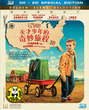 The Young And Prodigious T.S. Spivet 天才少年的奇妙旅程 2D + 3D Blu-Ray (2015) (Region A) (Hong Kong Version)