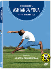 Thirumoolar's Ashtanga Yoga for Home Practice DVD (Region 3) (Hong Kong Version)
