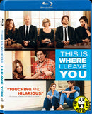 This Is Where I Leave You 愛聚頭七天 Blu-Ray (2014) (Region A) (Hong Kong Version)