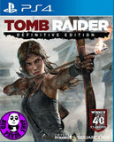 Tomb Raider - Definitive Edition (PlayStation 4) Region Free (PS4 English & Chinese Subtitled Version) 古墓奇兵 (高清版) (中英文合版)