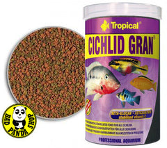 Tropical Cichlid Gran 100ml, 250ml (Tropical) (Fish Food)