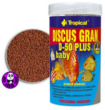 Tropical Discus Gran D-50 Plus Baby 100ml (Tropical) (Fish Food)