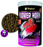 Tropical Flower Horn Adult 500ml, 1000ml (Tropical) (Fish Food)
