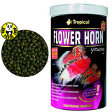 Tropical Flower Horn Young 250ml, 1000ml (Tropical) (Fish Food)