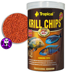 Tropical Krill Chips 250ml, 1000ml (Tropical) (Fish Food)