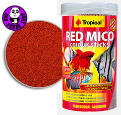 Tropical Red Mico Colour Sticks 32g (Tropical) (Fish Food)
