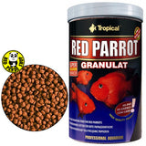 Tropical Red Parrot Granulat 250ml, 1000ml (Tropical) (Fish Food)
