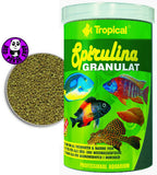 Tropical Spirulina Granulat 100ml, 250ml, 1000ml (Tropical) (Fish Food)