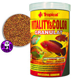 Tropical Vitality & Color Granulat 250ml (Tropical) (Fish Food)