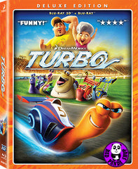 Turbo 2D + 3D Blu-Ray (2013) (Region A) (Hong Kong Version)