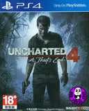 Uncharted 4: A Thief's End (PlayStation 4) Region Free (PS4 English & Chinese Subtitled Version) 秘境探險 4: 盜賊末路 (中英文合版)