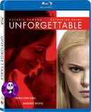 Unforgettable 妒火線 Blu-Ray (2017) (Region A) (Hong Kong Version)