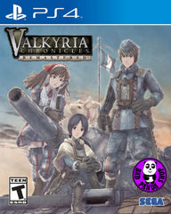 Valkyria Chronicles Remastered (PlayStation 4) Region Free (PS4 English Version)