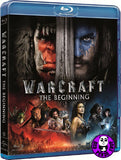 Warcraft: The Beginning 魔獸爭霸: 戰雄崛起 Blu-Ray (2016) (Region A) (Hong Kong Version)