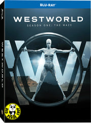 Westworld Season 1 西部世界第一季 Blu-Ray (2016) (Region A) (Hong Kong Version) TV series