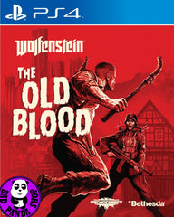 Wolfenstein - The Old Blood (PlayStation 4) Region Free