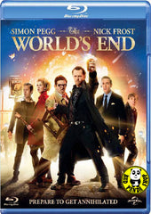 The World's End Blu-Ray (2013) (Region A) (Hong Kong Version)