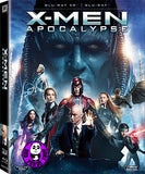 X-Men Apocalypse 變種特攻: 天啟滅世戰 2D + 3D Blu-Ray (2016) (Region A) (Hong Kong Version) 2 Disc