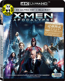 X-Men Apocalypse 變種特攻: 天啟滅世戰 4K UHD + Blu-Ray (2016) (Hong Kong Version)
