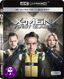 X-Men: First Class 變種特攻: 異能第一戰 4K UHD + Blu-Ray (2011) (Hong Kong Version)