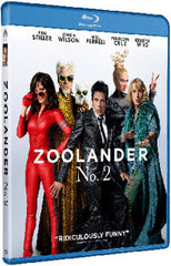 Zoolander 2 非常索凸務2 Blu-Ray (2016) (Region A) (Hong Kong Version)