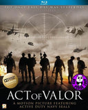 Act Of Valor Blu-Ray (2012) (Region A) (Hong Kong Version)