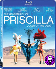 The Adventures Of Priscilla Queen Of The Desert Blu-Ray (1994) (Region A) (Hong Kong Version)