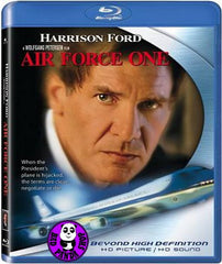 Air Force One Blu-Ray (1997) (Region A) (Hong Kong Version)