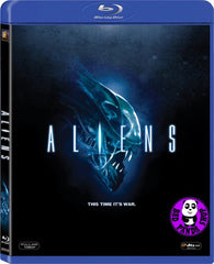 Aliens Blu-Ray (1986) (Region A) (Hong Kong Version)