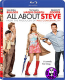 All About Steve Blu-Ray (2009) (Region A) (Hong Kong Version)