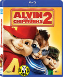 Alvin And The Chipmunks 2 - The Squeakquel 花鼠明星俱樂部2 Blu-Ray (2009) (Region A) (Hong Kong Version)