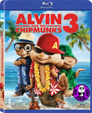 Alvin And The Chipmunks 3 - Chipwrecked 花鼠明星俱樂部3 Blu-Ray (2011) (Region A) (Hong Kong Version)